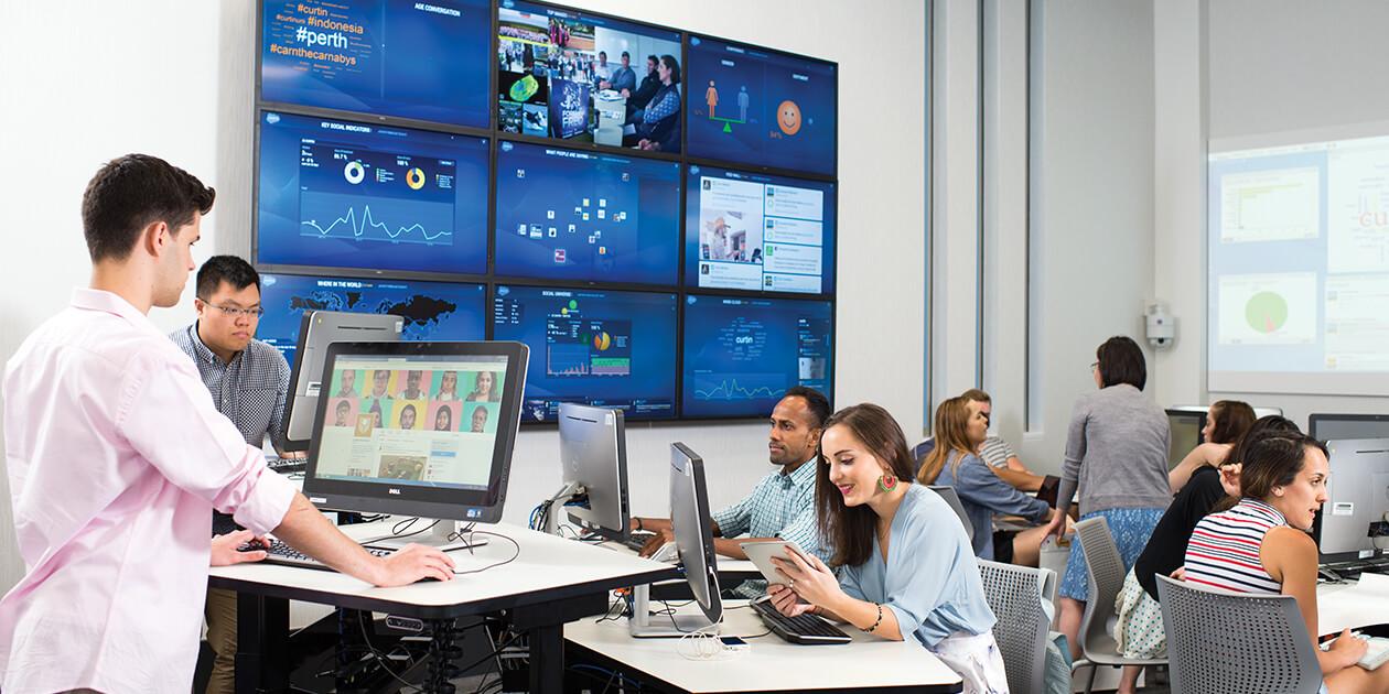 Study Digital and Social Media at Curtin