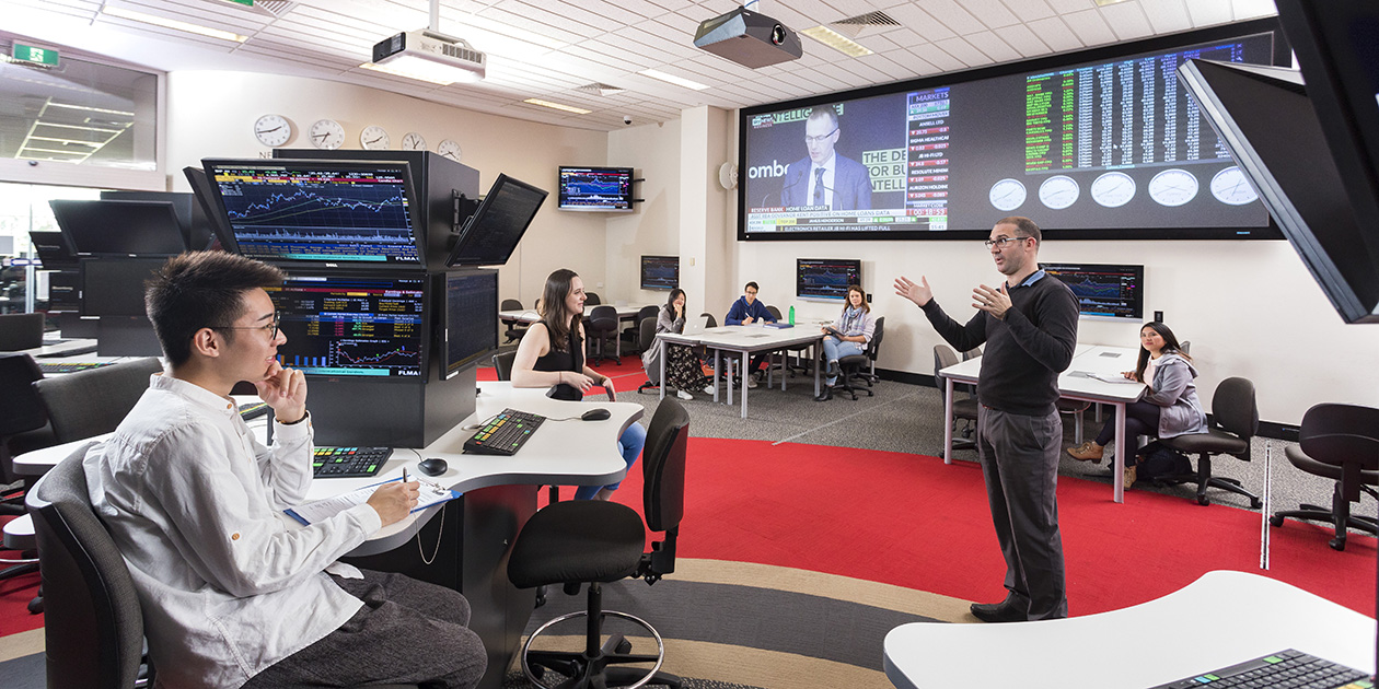 Lecturer in the Trading Room