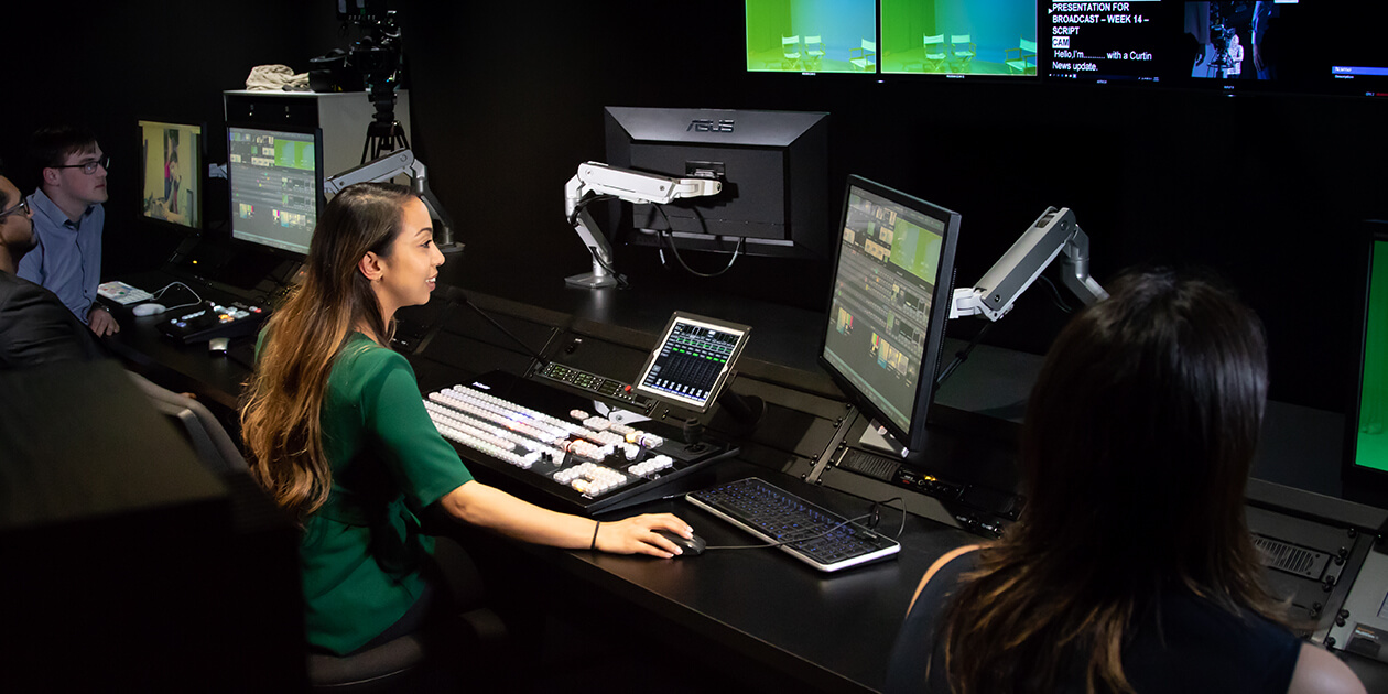Study Corporate Screen Production at Curtin